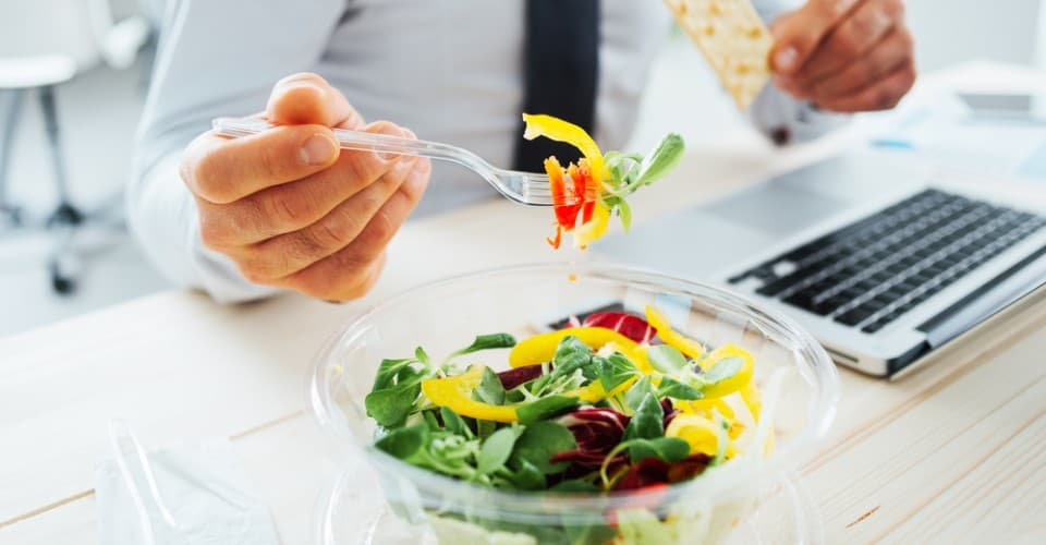 Guide To Eating Healthier And Performing Better At The Office Diet