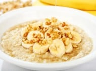 Eggs; Bananas; Beer; Oatmeal; Sushi/Sashimi and Wine